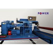 Máquina de enrolamento de rolo de borracha de tingidura de aço de matéria têxtil
