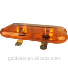 Sinalização de advertência LED âmbar