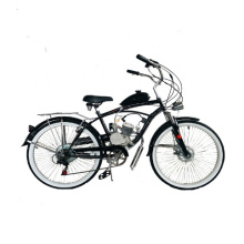 26inch Gas Motor Engine Ce OEM 2 Stroke 50cc Cheaper 2 Wheel Beach Cruiser Motorcycles