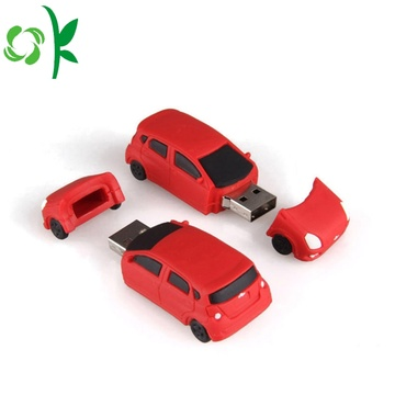 Silicone 3D Flash Drives Couvre la couverture Micro USB