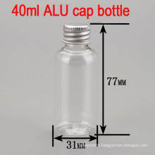 40ml Alu Screw Cap Clear Empty Cream Pet Plastic Bottle