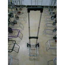 Foldable aluminium luggage carrier