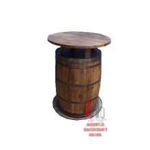 Runde Barrel Bar Tisch