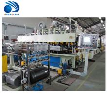 Man-made extrudierte Polystyrol xps PVC ABS Formisolierung Hohlplatte Extrusion Produktionslinie