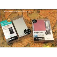 Caja plegable de plástico personalizado Power Bank (caja impresa PP)