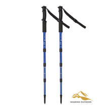 Hot sale for China Manufacturer of Alpenstock Trekking,Alpenstock Hiking Poles,Alpenstock Trekking Poles,Foldable Alpenstock 55-110cm Adjustable Anti-shock Trekking Poles supply to United Arab Emirates Suppliers