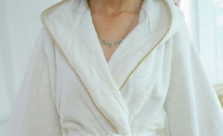 luxury Sexy Comfortable Thinner Shawl Collar Bathrobe