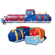 Commerial Cartoon Inflatable Water Tunnel Yhtl-007 With Reinforced Strip For Kid And Adult