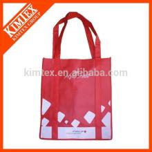 Vente en gros de sacs à provisions non tissés à bas prix avec logo