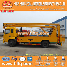New DONGFENG Tianjin HLQ5160GJKD hydraulic aerial work platform truck 24M good quality hot sale for sale