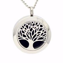 Großhandel Mode Baum des Lebens Bilder Anhänger Halsketten
