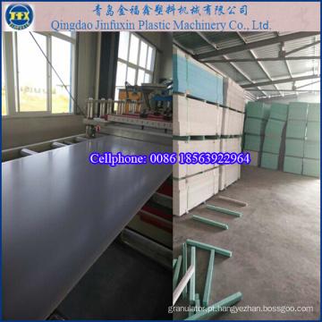 Máquina de fazer placa de espuma de molde de construção em PVC