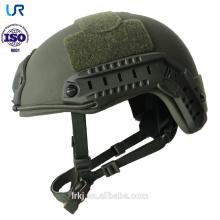 Casco a prueba de balas kevlar rápido militar de 2018 NIJ IIIA / casco balístico para los militares