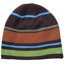 Lady Fashion Acryl Gestrickte Winter Warme Ski Beanie Hut (YKY3119)