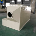 Exhaust gas scrubber / scrubber horizontal