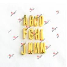 Поощрение 30мм DIY Gold слайд письмо Подвески для браслетов (DGL51031)