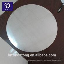 Folha de 1050 círculos de alumínio para panelas