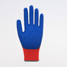 As Customized Anti-scratch Latex Labor Protective Gloves