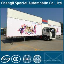 Portátil flexível Roadshow carroça exterior dançando caminhão plataforma