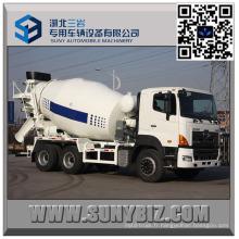 Camion de mélangeur de ciment de 10 M3 Hino 700