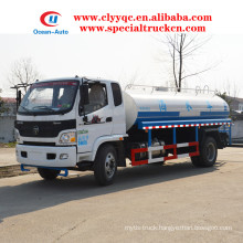 Foton Aumark 10000L water supply tanker 10ton water truck price for sale