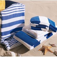 100% Cotton Stripe Beach Towel Hotel Towel