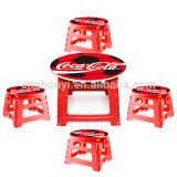 factory price cute printed child's table & stool set