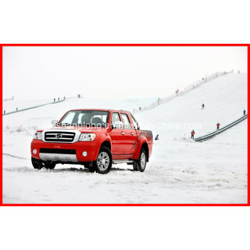 China Diesel mão esquerda Drive Pickup 4X4