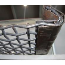 Maille d'écran en acier à haute teneur en carbone