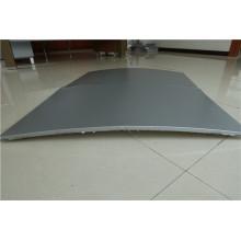 Дугообразные алюминиевые сотовые панели