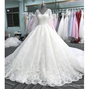 Цвета слоновой кости свадебное платье свадебное платье для новобрачных WT408