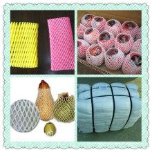 Filet à manches bon marché d'emballage alimentaire pour la protection fraîche de fruit de mangue