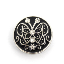 Snap Fastener Jewelry Engraved Alloy Fashion Button