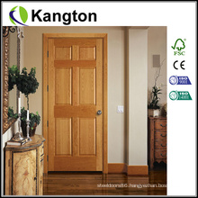 Oak Carving Design Main Wood Door (wooden door)