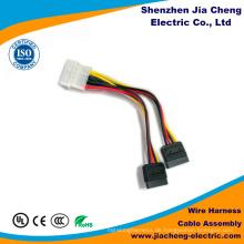 Kundenspezifischer elektronischer Kabelbaum-Stecker-Automobilkabel-Versammlung Shenzhen-Fabrik