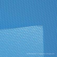Tissu de rideau de fenêtre en fibre de verre revêtu de PVC