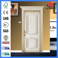 JHK-M01 Natural Red Oak Econmic Embossed MDF Exterior Door