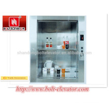 Small, Flexible, Simple BOLT Dumbwaiter elevator / Sundries Elevator for Hospital, Hotel