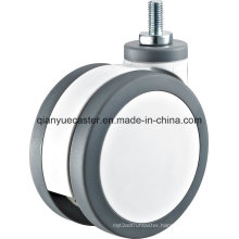 Medical Plastic Twin Wheel Casters