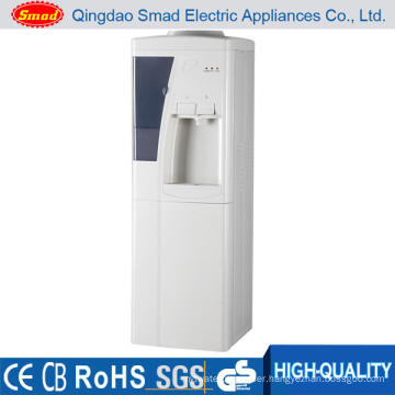 Cheapest Floor standing Cold and Hot water dispenser with refrigerator