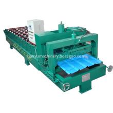 tile making machine type glazed tile forming machine /zinc roofing sheet machine making profiles