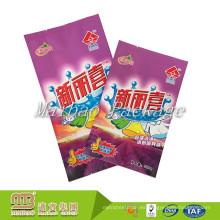 Logotipo de diseño personalizado de Guangzhou Impreso Big / Small Plastic Detergente de lavandería detergente Powder Bag