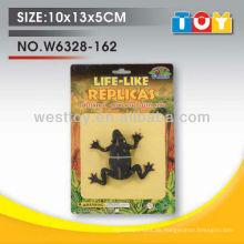 TPR Gummi Tier Frosch Modell für Kinder Spielzeug Werbegeschenk