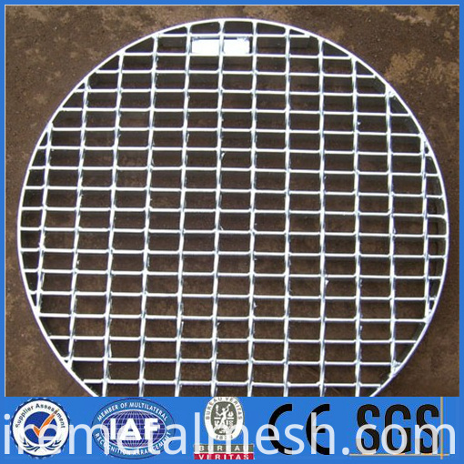 low carbon steel galvanized groud grating