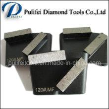 Tampon de polissage de meulage de diamant