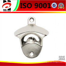Chrome Plating Zinc Alloy Wall Mounted Bottle Opener