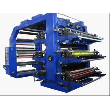 Flexodruckmaschine mit 6 Farben-hoher Geschwindigkeit (WS506-500GJ)