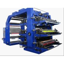 6 цветов высокоскоростная flexographic печатная машина (WS506-500GJ)