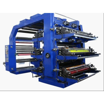 6 Colors High Speed Flexographic Printing Machine (WS506-500GJ)