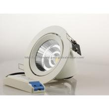 TUV&SAA approved  light Gimble Round White Downlight Light Fitting